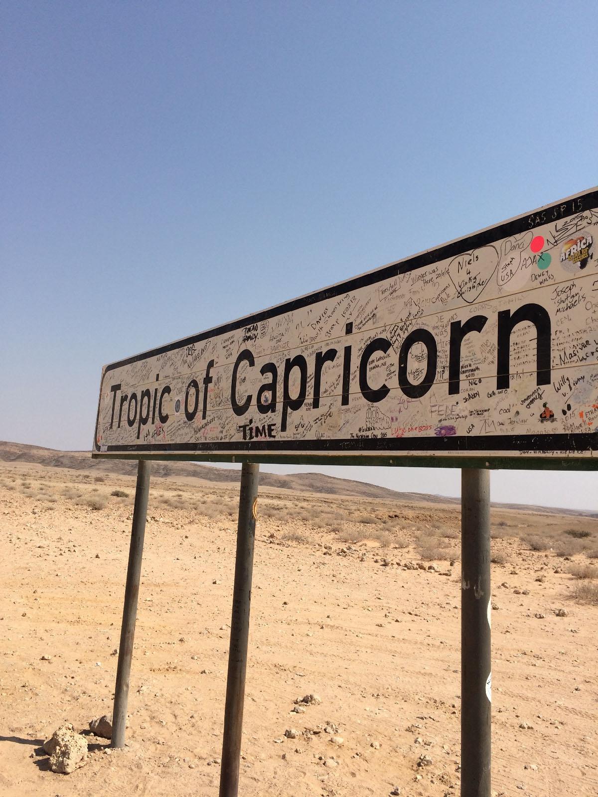 Tropic of Capricorn南回帰線