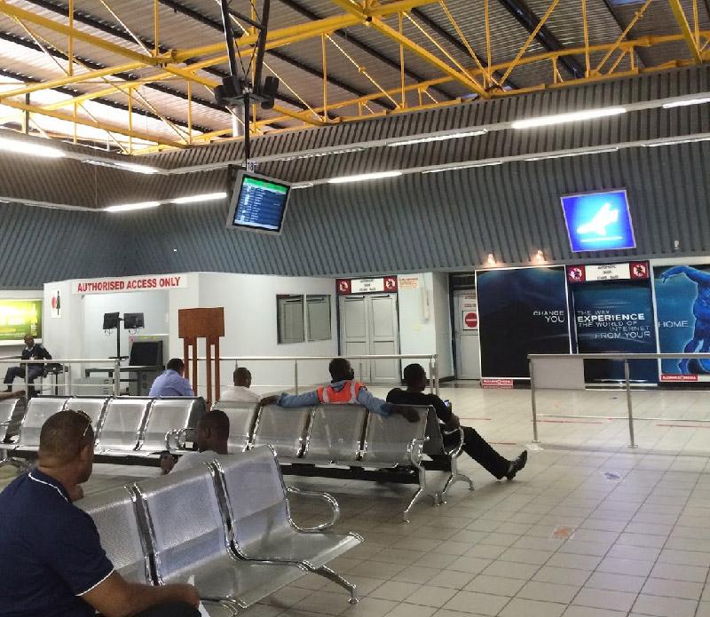 ナミビア空港
