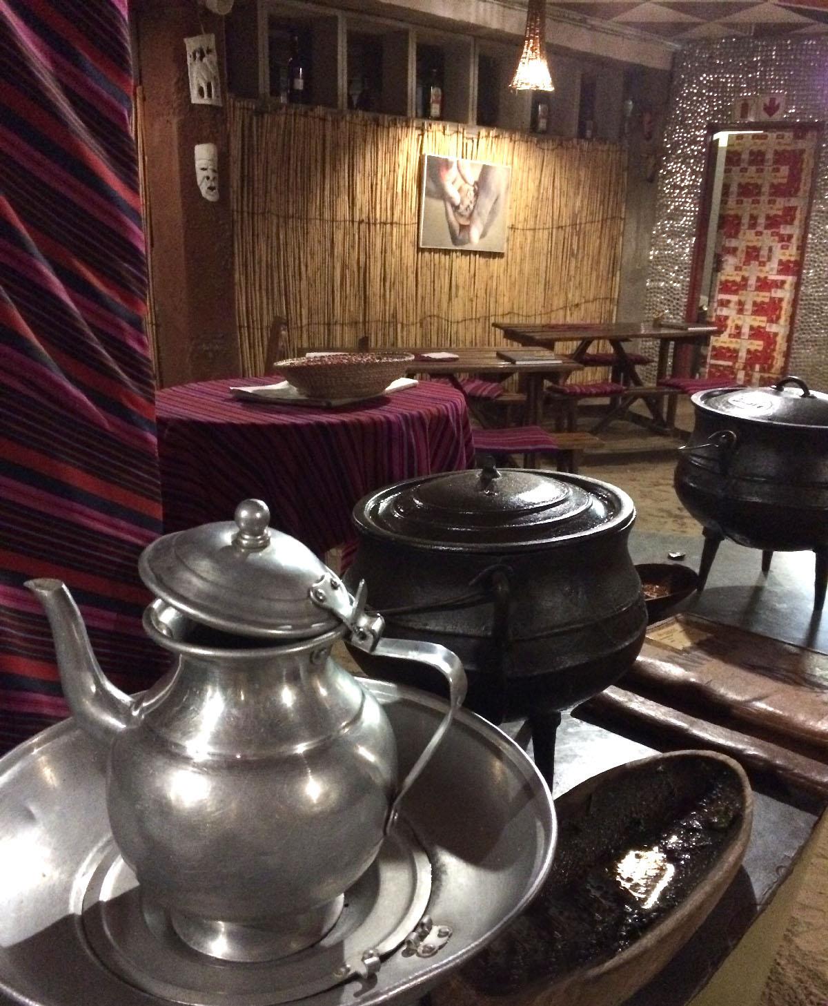 手洗い用のお湯 Xwama Restaurant