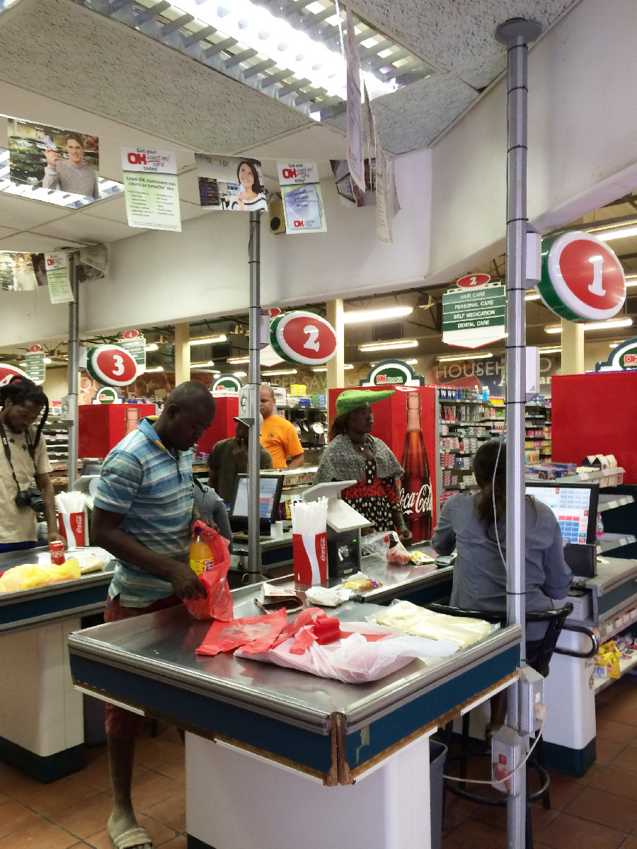 OK store in Opuwo