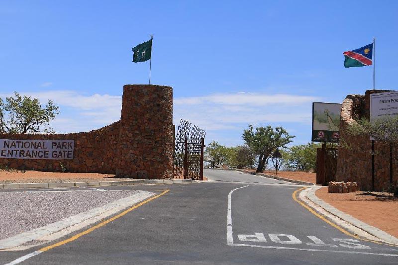 Etosha -Galton Gate