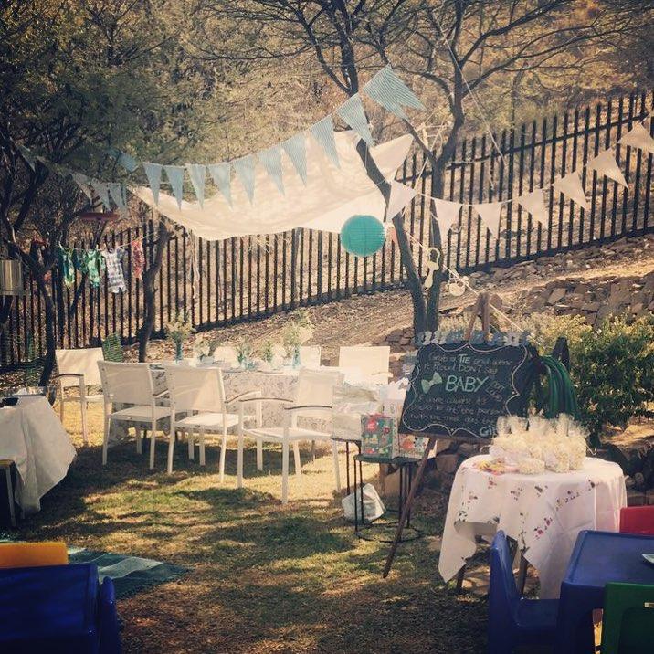 ガーデンベビーシャワーパーティー