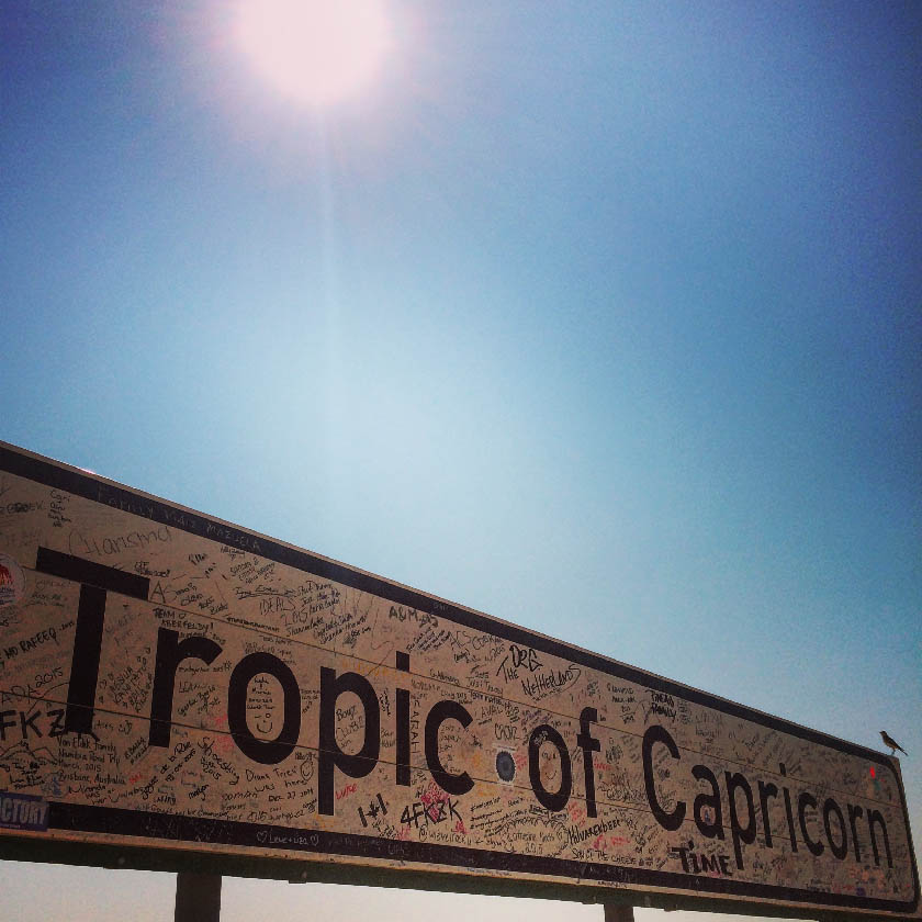 Tropic of Capricorn  南回帰線