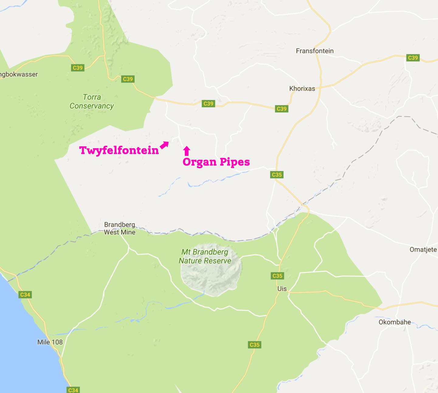 map-tweyfelfontein