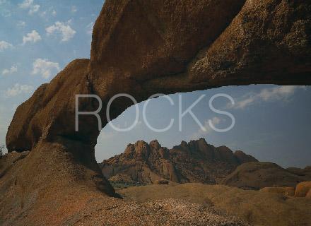 ナミビアの巨石・岩・渓谷