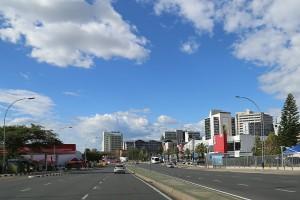 Windhoek市街